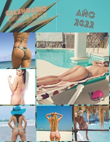 Calendario 2022, chicas sexy en bikini tanga