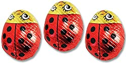 Lady Bugs Solid Milk Chocolate