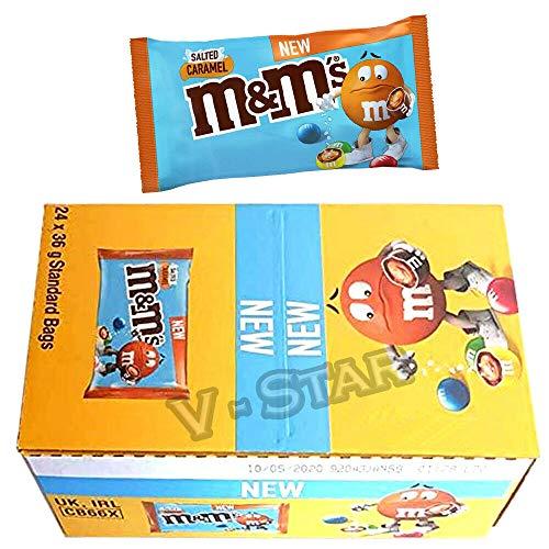 M&m's Salted Caramel Confetti Al Cioccolato Con Caramello Salato 24x36g