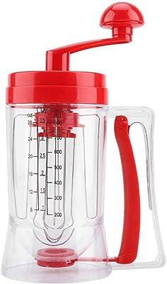 Dancal Hand-held Manual Pancake Cupcake Batter Mixer Dispenser Blender Machine Baking Tool