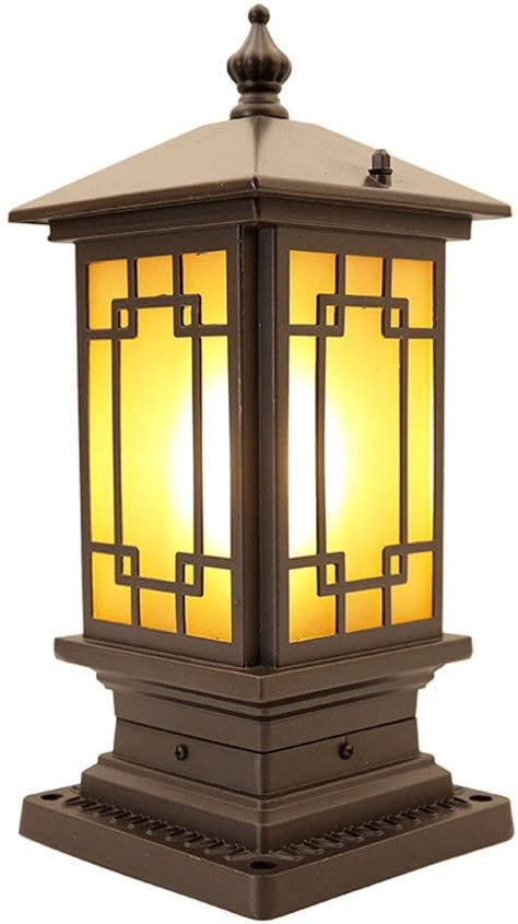 Ahzhlb Limited Special Price Traditional Post Lamp Exterior Ranking TOP1 Wall Pillar Lig Waterproof