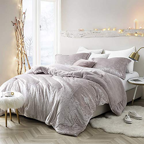 Byourbed Coma Inducer Oversized Queen Comforter - Velvet Crush - Champagne Pink