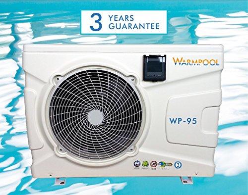 Warmpool warmtepomp, 9,5 kW – 45 – 50 m3.