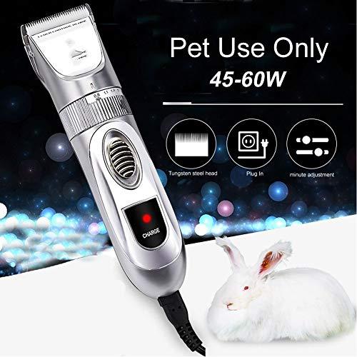 N/A Tosatrice45-60W Tosatrice per Capelli ad Alta Potenza per Cani Pet Cat Rabbit Horse Tosatrice per Animali
