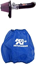 K&N 57-2529-1 Performance Air Intake System with Blue Air Filter Wrap
