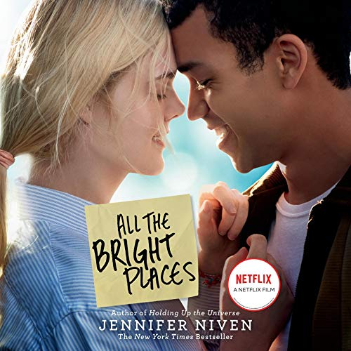 All the Bright Places audiobook cover art