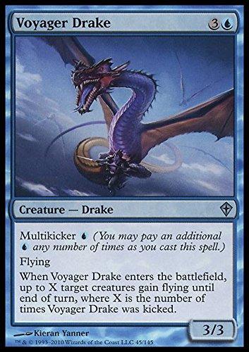 Magic: the Gathering - Voyager Drake - Worldwake