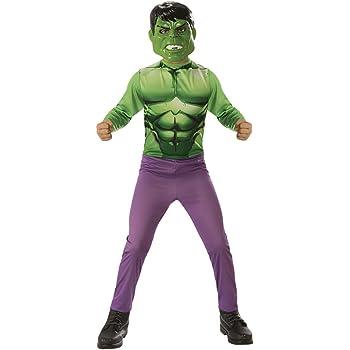 Avengers - Disfraz de Hulk para niño, infantil talla 3-4 años ...
