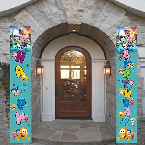 Bubble Guppies Birthday Door Sign
