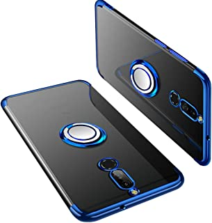 UBERANT Huawei Mate 10 Lite Case, Ultra Light Slim Plating Soft TPU Ring Kickstand with Magnetic Metal Plate Anti Slip Shockproof Protective Case for Huawei Mate 10 Lite/Honor 9i / Nova 2i 5.9