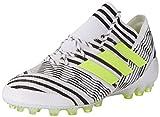 adidas Nemeziz 17.1 AG, Botas de fútbol para Hombre, Blanco (Ftwbla/Amasol/Negbas), 44 2/3 EU