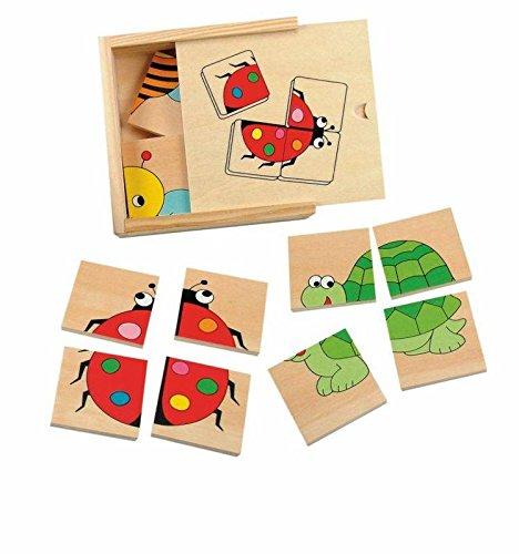 Woody 90328 Mini Puzzle