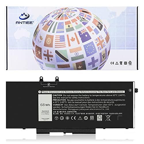 ANTIEE 4GVMP 7.6V 68Wh Laptop Batería para DELL Latitude 5400 5500 5410 5510 Precision 3540 3550 Inspiron 7590 7591 7791 2-in-1 Series 1V1XF R8D7N RF7WM 9JRYT 09JRYT 0X77XY 0C5GV2