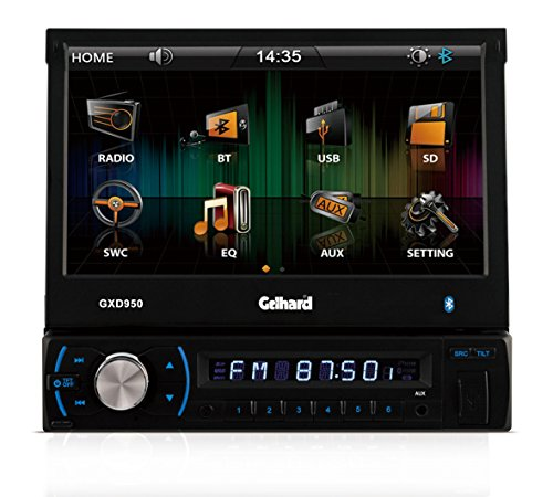Gelhard GXD950 Bluetooth RDS-Autoradio mit 7