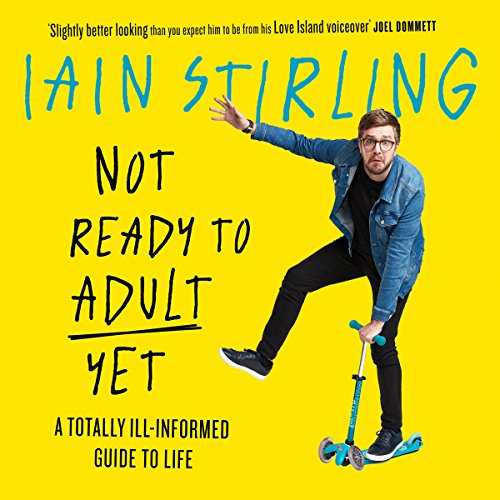 Not Ready to Adult Yet audiobook cover art