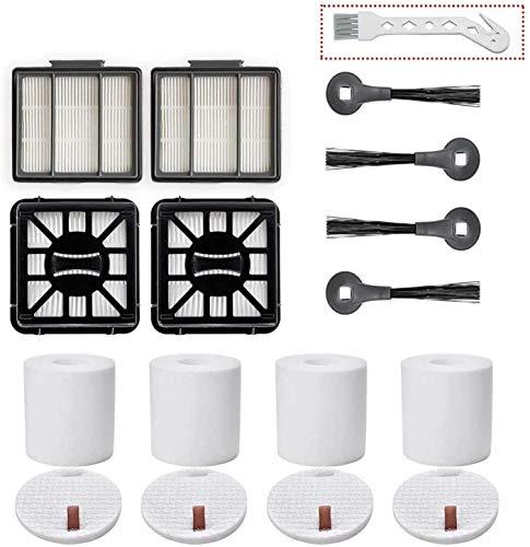 WDGNY accessori per il pulitore Set di Ricambio per Shark IQ R101AE (RV1001AE) R101 Robot Aspirapolvere spazzola kit