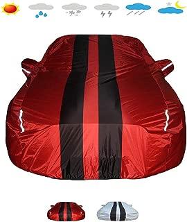 OOFAYZYJ Autoabdeckung,Geeignet f/ür Ford Mustang Bullitt/™ Vollst/ändige Autogarage Wasserdicht Staubdicht Kratzfest Schneebest/ändig Sonnenschutz Anti-UV Winddicht Autoplanen