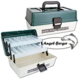 Angel-Berger Angelkoffer 2 ladig Gerätekoffer
