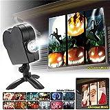 Window Wonderland Projector - Lumière de projecteur de fenêtre de Noël Halloween