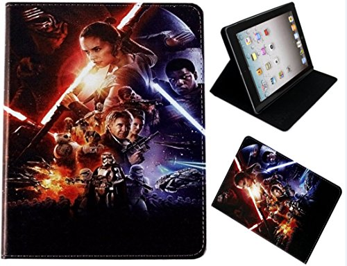 For Apple iPad 2 3 4 Star Wars Jedi Force Awakens Kylo Ren Stand Case Cover