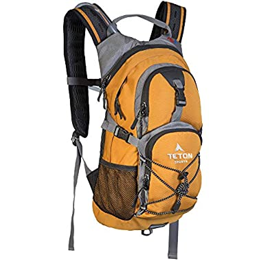 TETON Sports Oasis 1100 Hydration Pack; Free 2-Liter Hydration Bladder; For Backpacking, Hiking, Running, Cycling, and…