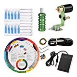 Kit De Machines Maquina Tatuar Máquina Rotatoria Del Tatuaje Pedal Rotary Set Kits Herramientas Tatoo Up Aguja Proficional