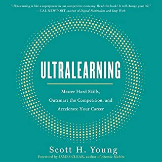 Ultralearning audiobook cover art