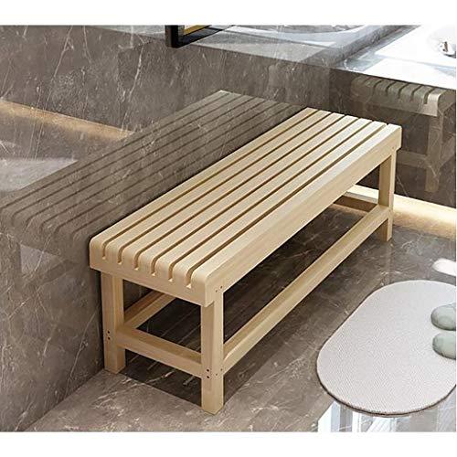 HDHXDS Bänk för skor, bänk, parkering, flytta, bastupall, lång bänk, huvudpall, skoskåp för matbord, soffa