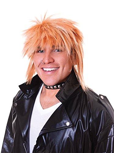 Bristol Novelty Novelty-BW655 BW655 Perruque Punk pour Homme, Blond, taille unique