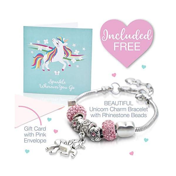 Amitié Lane Unicorn Jewelry Box For Girls - Two Unicorn Gifts For Girls Plus Augmented Reality App (STEM Toy) - Unicorn… 4