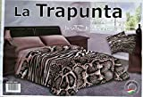 TRAPUNTA MATRIMONIALE MARTA MARZOTTO 3DTRAPUNTINO CALDO INVERNALE DIGITALE ANIMALIER (MATRIMONIALE)