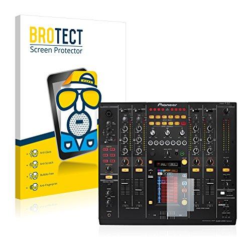 BROTECT Protector Pantalla Anti-Reflejos Compatible con Pioneer DJM 2000 Nexus (2 Unidades)...