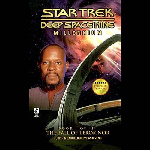 Star Trek, Deep Space Nine: Millennium #1 (Adapted) audiobook cover art