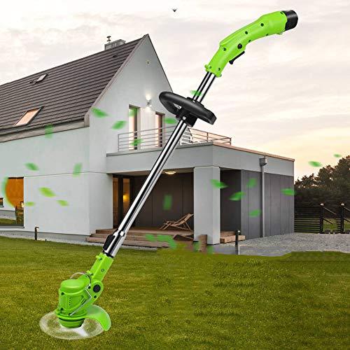 Accu-grasmaaier 180 graden Pas de hoek van het hoofd aan Oplaadbare batterij Grasmaaier Elektrische grasmaaier Draadloze controle Irrigatie Grassnijder