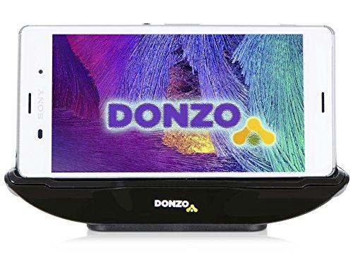 DONZO USB Docking-Station|Ladegerät für Sony Xperia Z3 inkl. micro-USB Daten-Kabel Schwarz