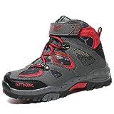 ASHION Bottes Chaussures de randonnée garçon Bottes de Neige Chaudes antidérapantes Unisexes