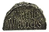 Ebros Witches Wizards and Sorcerers Realistic Fantasy Cosplay Decorative Magical Spells Sorcery Costume Prop Accessory Decor Collectible Figurine (Dryad Stump of Magic Wand Holder Stand)