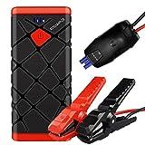 Eswad Arrancador de Coches,1500A Arrancador Batería Coche(for All Gasoline or 8.0L Diesel Vehicles) Jump Starter Battery, QC3.0 Quick Charging, LED Flashlight and USB Port