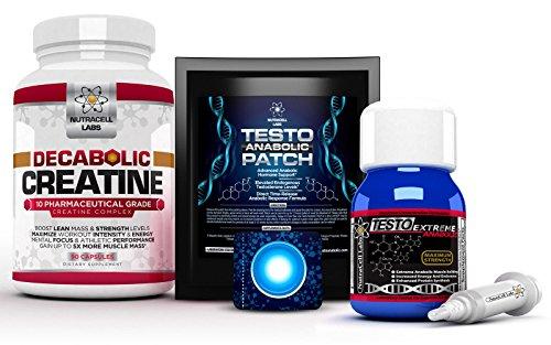 Anabolic Muscle Stack : Testo Extreme Anabolic & 10 Blend Decabolic...