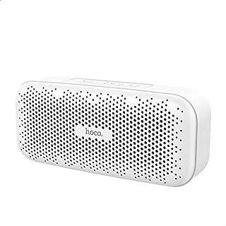 Hoco BS23 Elegant Rhyme Wireless Speaker, 1200 mAh - White