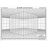 Graph'it Grille de perspective - Modèle D'Cube en perspective oblique'
