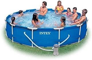 Intex 12-Foot by 30-Inch Metal Frame Pool Set