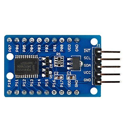 Yintiod PCF8575 IO Expander Modul I2C bis 16IO für Arduino