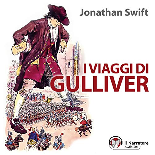 I viaggi di Gulliver audiobook cover art