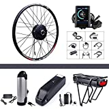 500W 48V Hub Motor Electric Bike Conversion Kit for Kinds of Bicycle 700C