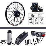 BAFANG 48V 500W Rear Hub Motor Kit Electric Bicycle Conversion Kit for...