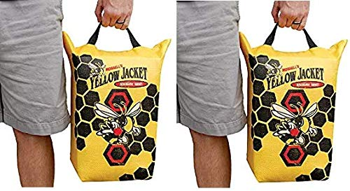 Morrell Yellow Jacket Crossbow Bolt Discharge Bag Archery Target - for Safely Discharging Crossbow Bolts After Hunting (2-(Pack))