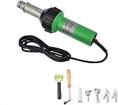 InLoveArts Heteluchtpistool, 1600 W, professionele kunststof laser, lassen heteluchtpistool, soldeerwerkzaamheden, lasappa...