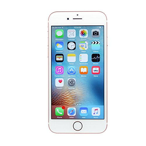 Apple iPhone 6S Plus, 16GB, Rose Gold - Fully Unlocked (Renewed)