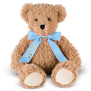 Vermont Teddy Bear Stuffed Animal - Get Well Soon 13 Inch Super Soft